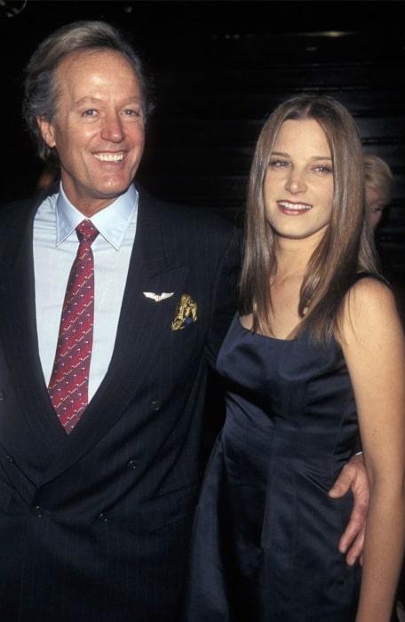 Bridget Fonda and Peter Fonda, as seen in April 2011