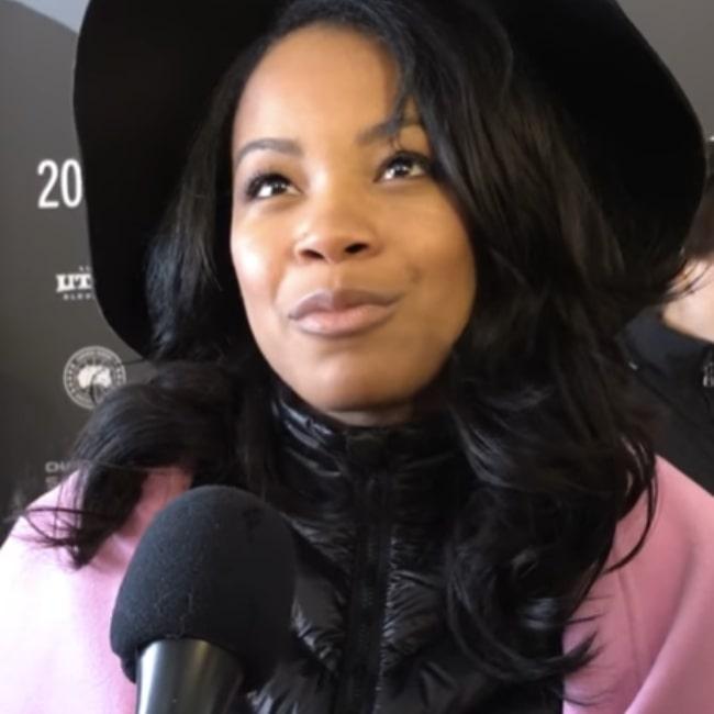 Chanté Adams pictured at 2017 Sundance Film Festival