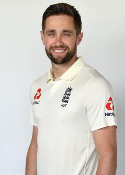 Chris Woakes as seen in an Instagram Post in October 2019