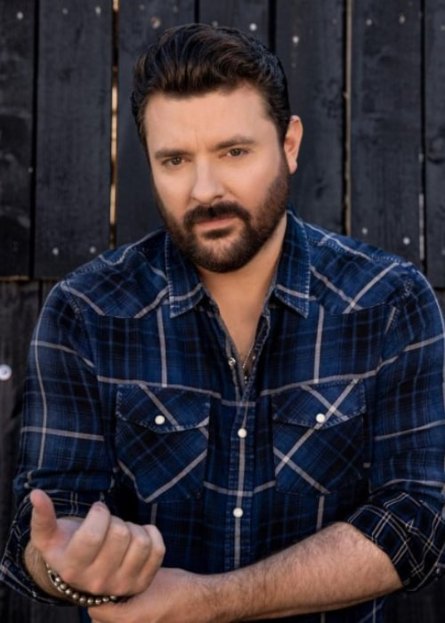 Chris Young as seen in an Instagram Post in January 2021