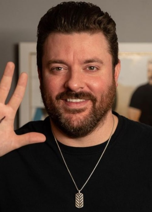 Chris Young as seen in an Instagram Post in November 2020