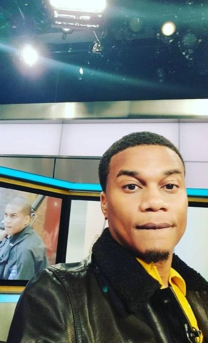 Cory Hardrict taking a selfie in June 2018