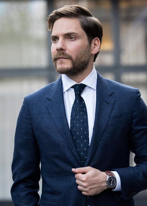 Daniel Brühl as seen in an Instagram Post in April 2018