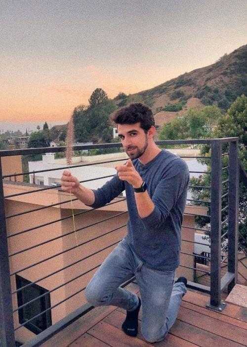 Daniel Gizmo as seen in a picture that was taken in July 2019, in Los Angeles, California