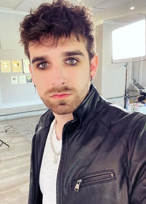 Daniel Gizmo as seen in a selfie that was taken in March 2021, in Las Vegas, Nevada