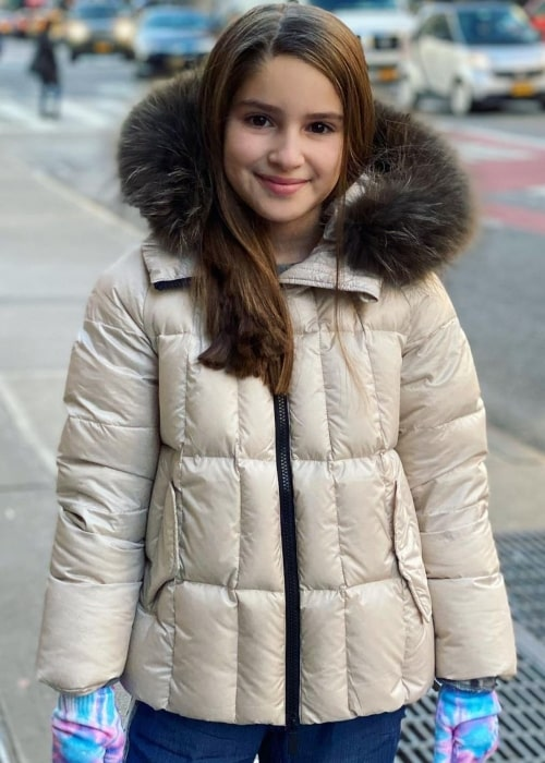 Daniela Marder as seen in a picture that was taken in New York City, New York in November 2019