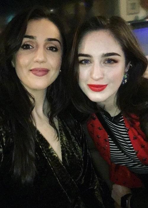 Danielle Galligan (Right) and Alexandra Conlon in February 2020