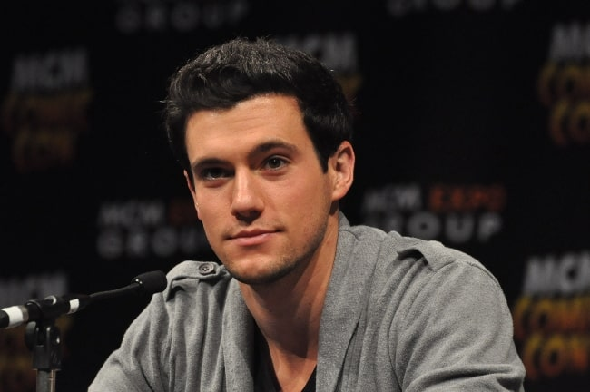 Drew Roy pictured at the MCM London Comic Con 2013