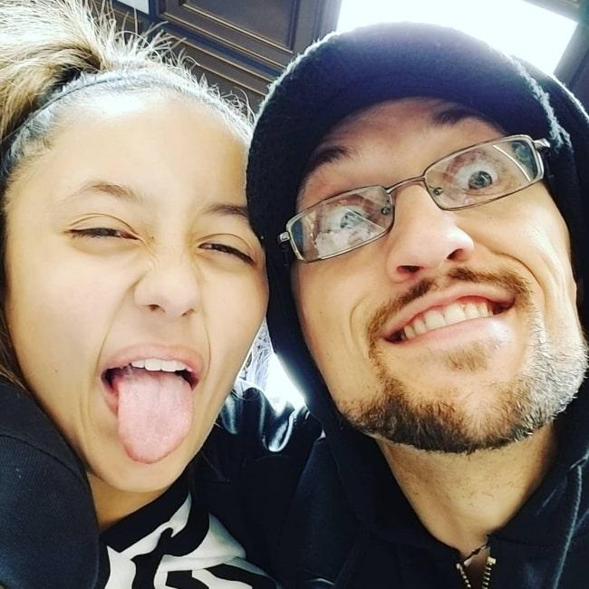 FGTeeV Duddy and his daughter Alexis Ryan in December 2017