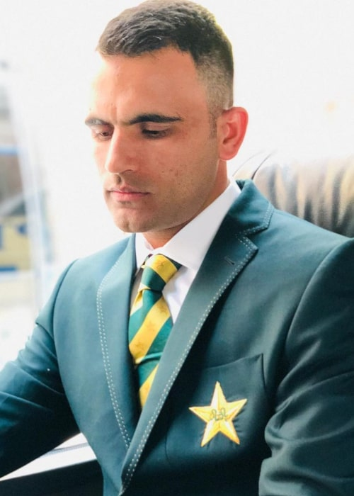 Fakhar Zaman as seen in an Instagram Post in March 2020