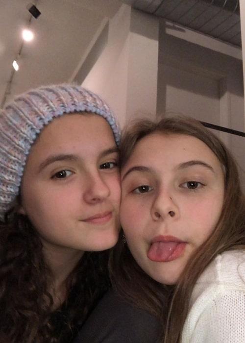 Fina Strazza (Left) and Brooklyn Shuck in November 2019