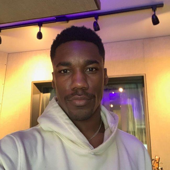 Giveon as seen in an Instagram selfie in July 2020