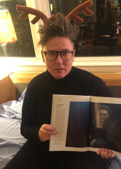Hannah Gadsby as seen in an Instagram Post in December 2018