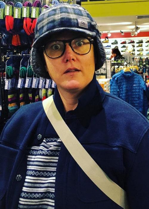 Hannah Gadsby as seen in an Instagram Post in November 2018