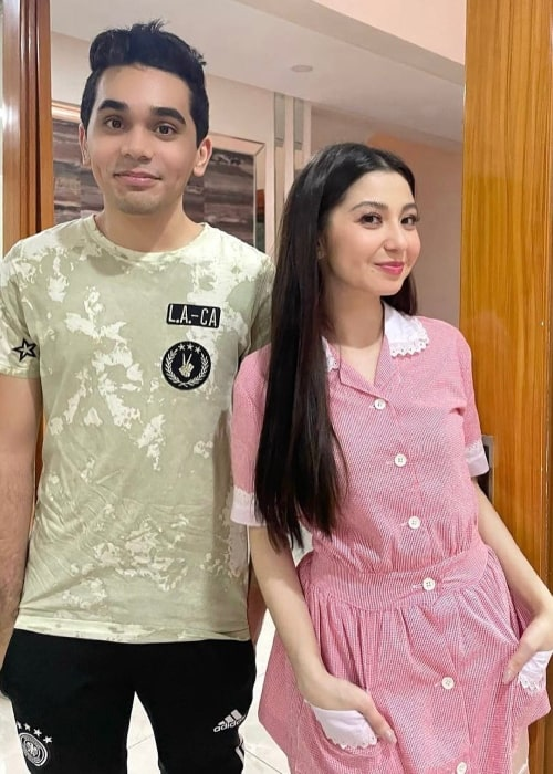 Hashim Alawi as seen in a picture with YouTuber Donnalyn Bartolome in March 2021