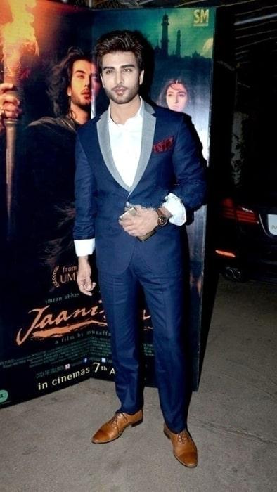 Imran Abbas pictured at 'Jaanisaar' screening in January 2016