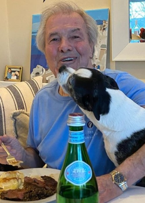 Jacques Pépin as seen in an Instagram Post in April 2021