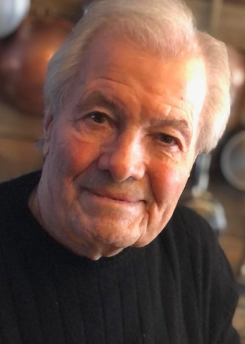 Jacques Pépin as seen in an Instagram Post in December 2020