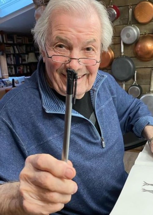 Jacques Pépin as seen in an Instagram Post in March 2021