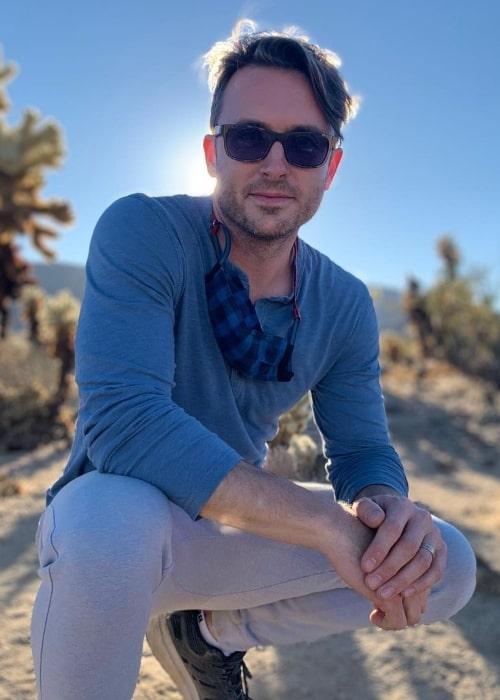 James Snyder as seen in an Instagram post in December 2020