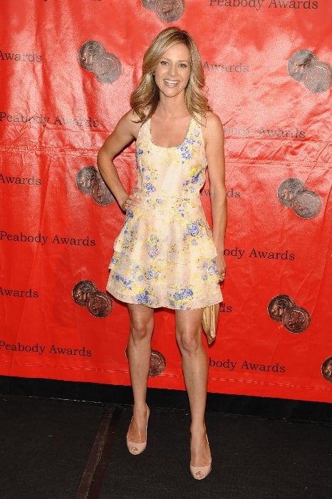 Jessalyn Gilsig as seen while posing for the camera at the 69th Annual Peabody Awards in 2010