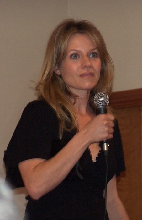 Jessalyn Gilsig pictured at an appearance in England in 2008