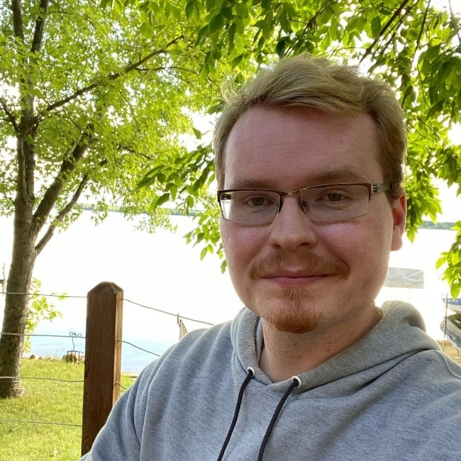 John Robert Bell as seen in a selfie that was taken in July 2020