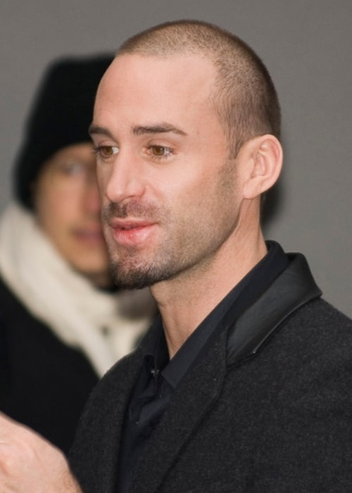Joseph Fiennes as seen in a picture that was taken on August 16, 2019, at a press conference for Goodbye Bafana at the Hyatt Hotel, Potsdamer Platz, Berlin