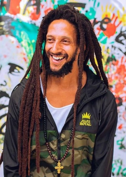 Julian Marley as seen in an Instagram Post in June 2020