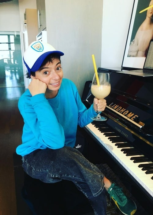 Kate Micucci as seen in a picture that was taken in October 2020