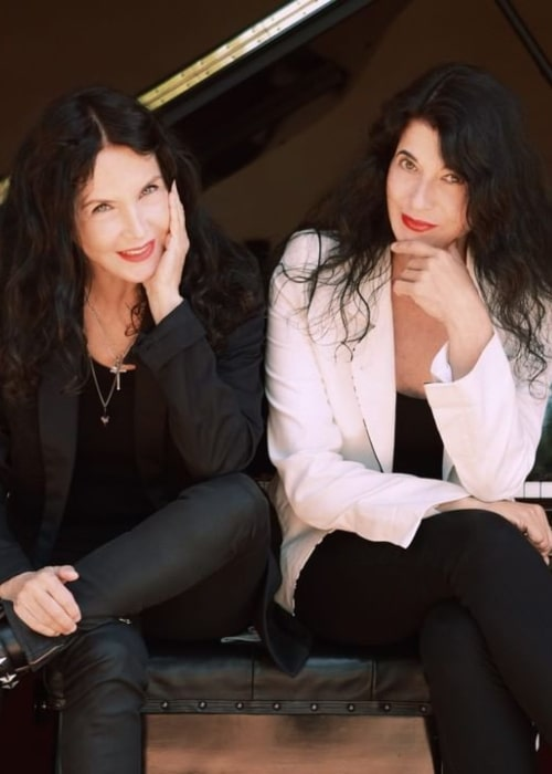 Katia Labèque and Marielle Labèque, as seen in February 2020