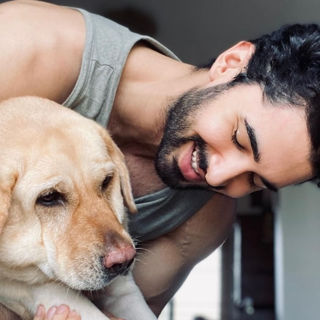 Laksh Lalwani in August 2020