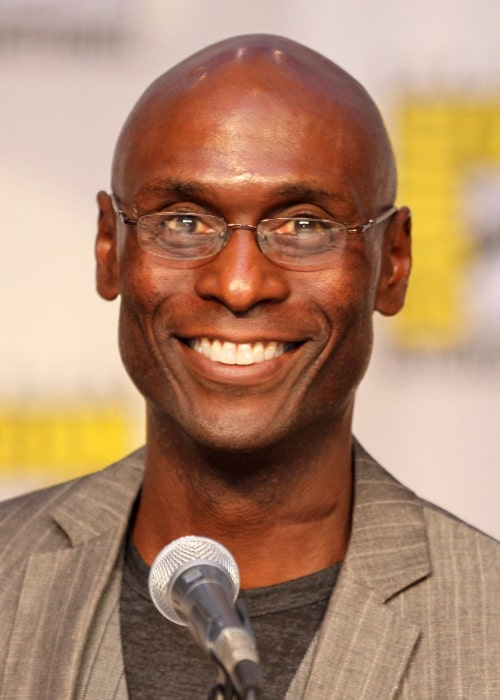 Lance Reddick pictured at the 2010 Comic Con in San Diego, California