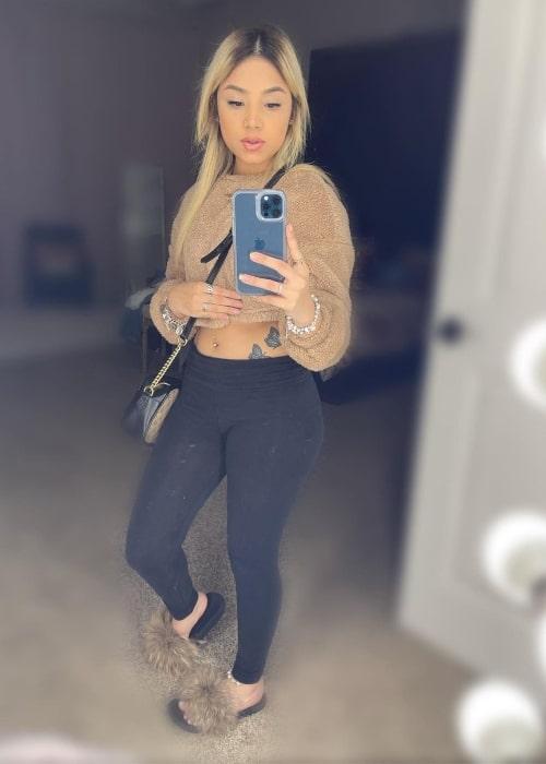 Linag0ldi as seen in a selfie that was taken in March 2021