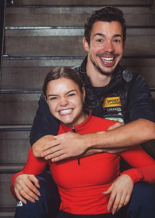 Loena Hendrickx and Jorik Hendrickx, as seen in December 2020