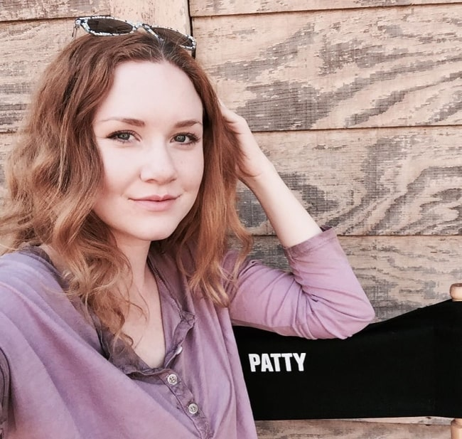 Madisen Beaty as seen while clicking a selfie at Paramount Ranch in March 2016