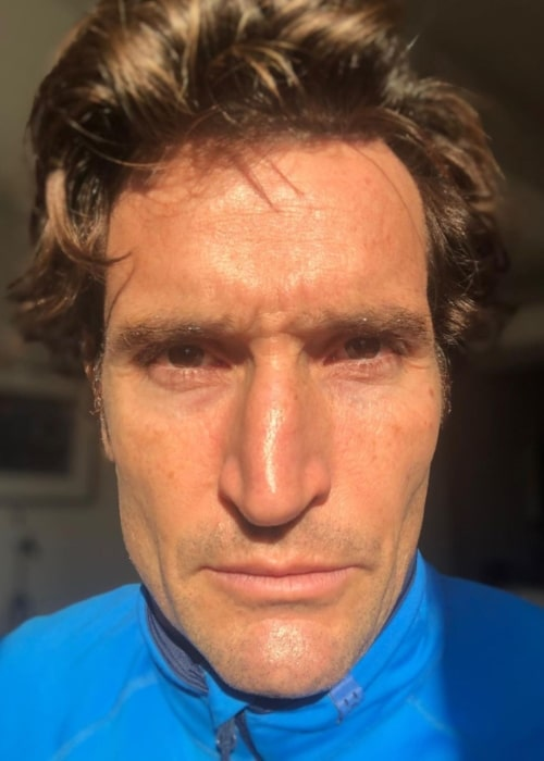 Matthew Del Negro walking into the new year in January 2021