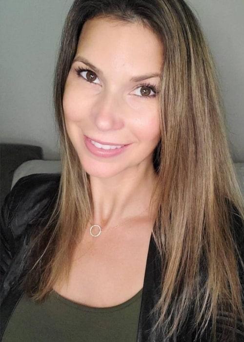 Maya Vander as seen in a selfie that was taken in November 2020