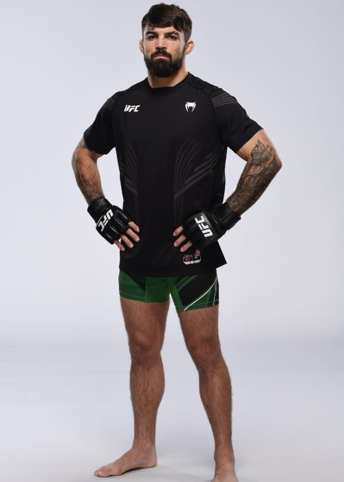 Mike Perry as seen in an Instagram Post in April 2021