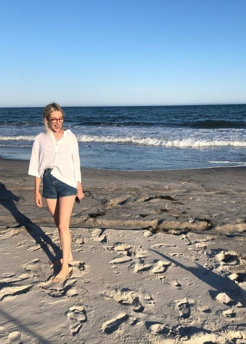 Molly Bernard in January 2021 remembering summer