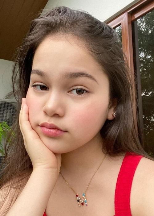 Mona Louise Rey as seen in a selfie that was taken in June 2020