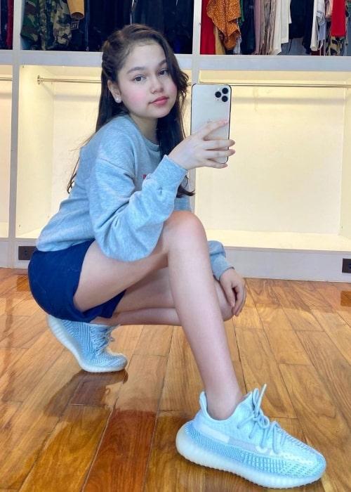 Mona Louise Rey as seen in a selfie that was taken in October 2020