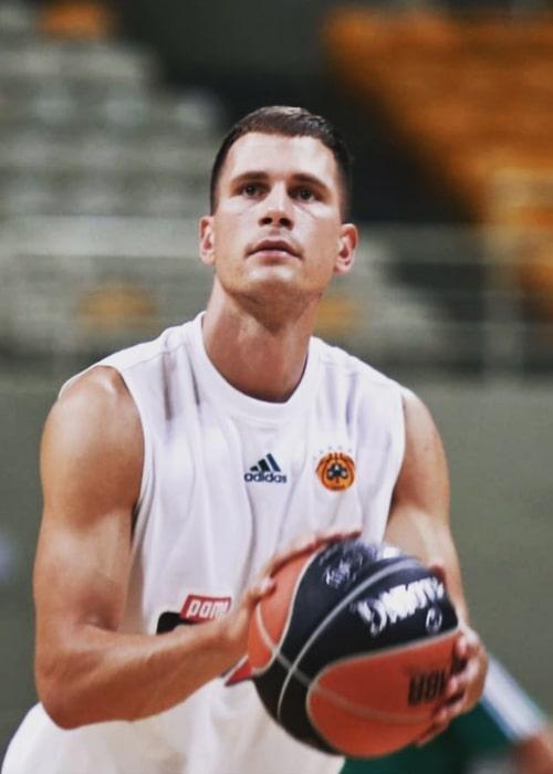 Nemanja Nedović as seen in an Instagram Post in August 2020