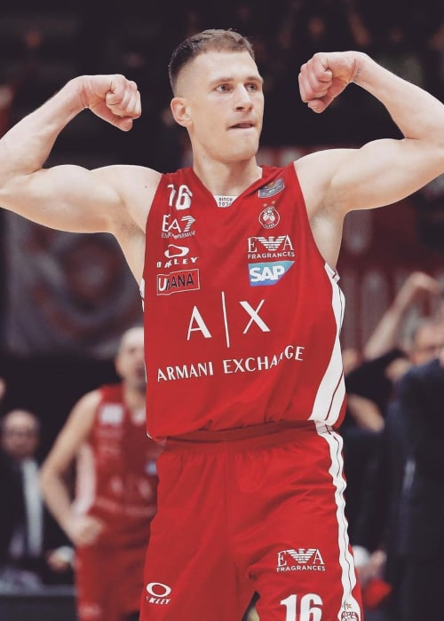 Nemanja Nedović as seen in an Instagram Post in June 2020