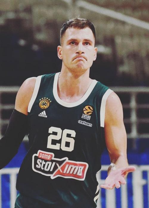 Nemanja Nedović as seen in an Instagram Post in October 2020