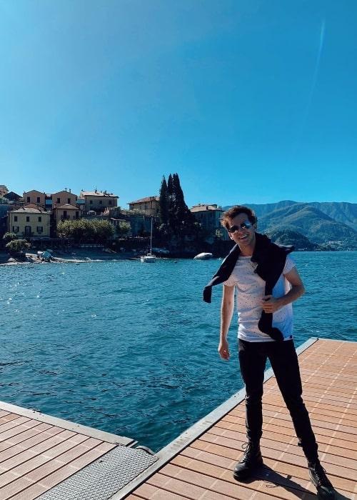 Nicholas Podany at Varenna, Lago Di Como in October 2019