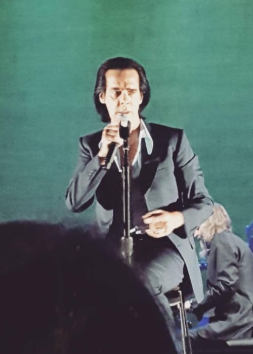 Nick Cave as seen in an Instagram Post in August 2017