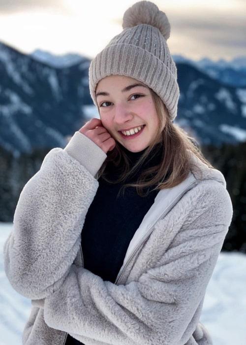 Olga Mikutina as seen in an Instagram Post in December 2020