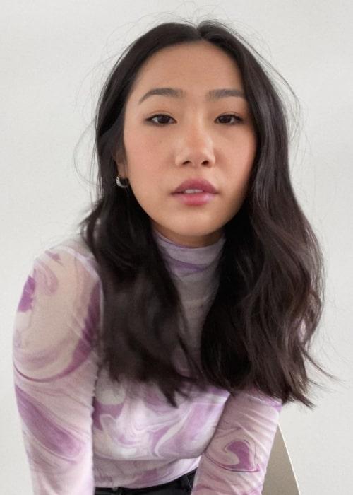 Olivia Liang seen in a selfie taken in March 2021
