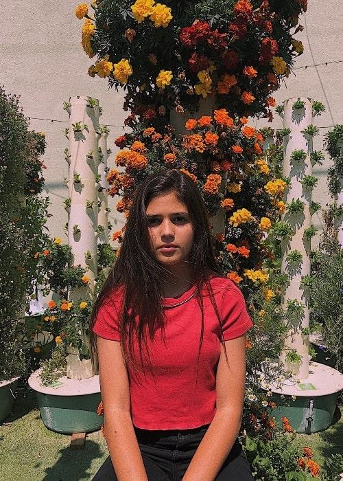 Olivia Trujillo as seen in June 2018